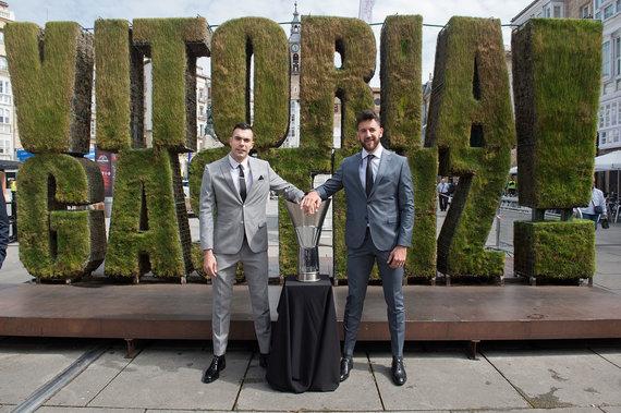 Getty Images/Euroleague.net nuotr./Kostas Sloukas ir Vasilije Micičius
