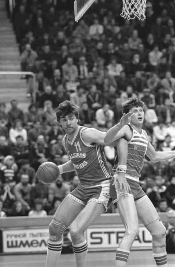 """Scanpix""/""RIA Novosti"" nuotr./Arvydas Sabonis 1987 m."