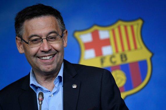 """AFP/""""Scanpix"""" nuotr./Josepas Maria Bartomeu"""