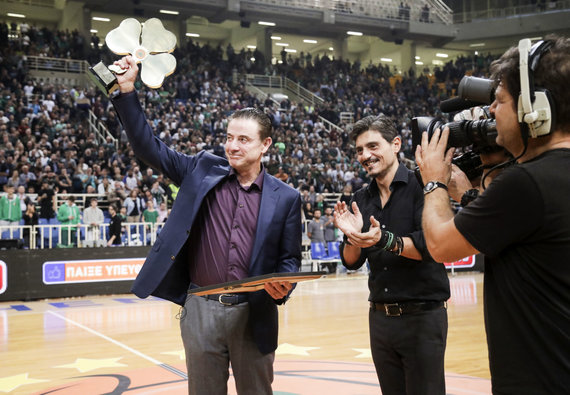 Getty Images/Euroleague.net nuotr./Dimitris Giannakopoulas ir Rickas Pitino