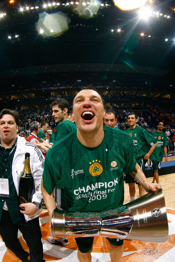 Getty Images/Euroleague.net nuotr./Šarūnas Jasikevičius 2009 m.