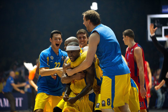 Getty Images/Euroleague.net nuotr./Tyrese'as Rice'as 2014 m.