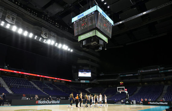 """Getty Images/Euroleague.net nuotr./""""Chimki"""" – """"Real"""""""