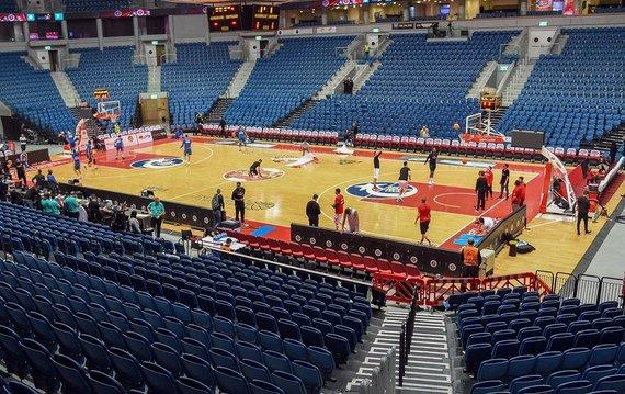 """FIBA nuotr./Jeruzalės """"Hapoel"""" arena"""