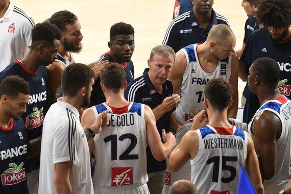 """AFP/""""Scanpix"""" nuotr./Prancūzijos krepšinio rinktinė"""