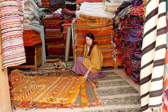 Asmeninio archyvo nuotr./Laura Grašytė kelionės Maroke metu