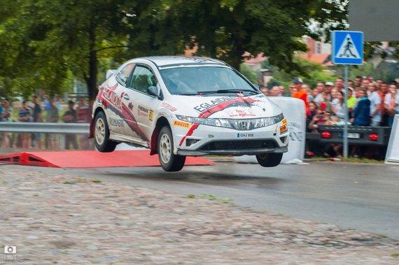 Partnerio nuotr./A. Gulbinas (Honda Civic Type - R)