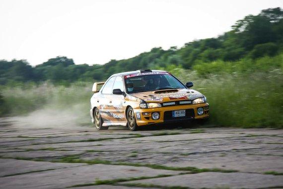 Partnerio nuotr./Vytis Pauliukonis (Subaru Impreza GT)