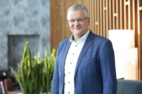 Partnerio nuotr./Klaipėdos LEZ vadovas Eimantas Kiudulas