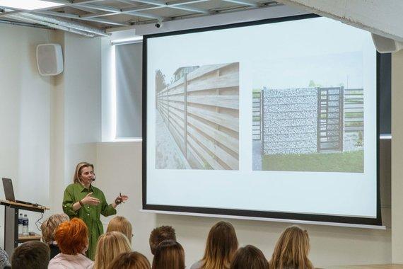 """Namų apdailos centre """"Unideco"""" vykęs nemokamas aplinkos dizaino seminaras"""