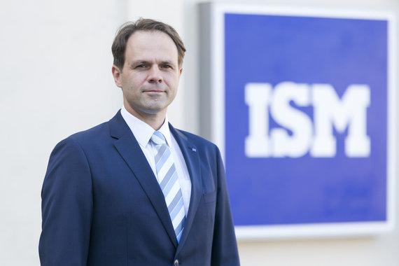 ISM nuotr./ISM Vasaros universiteto sumanytojas prof. dr. Tadas Šarapovas