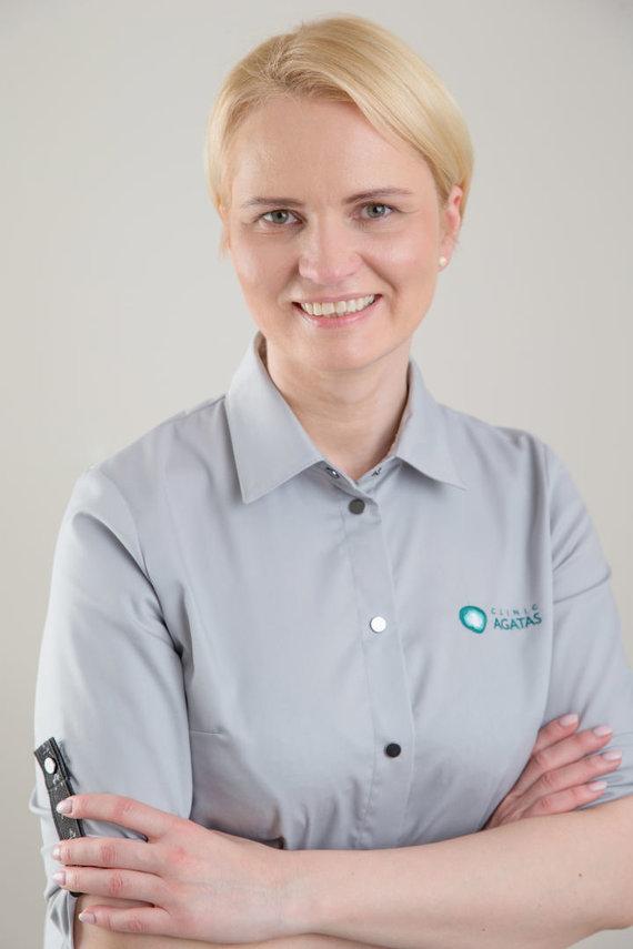 Partnerio nuotr./Skausmo gydytoja Asta Zavackienė
