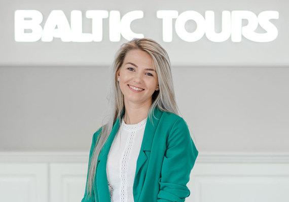 """Baltic Tours nuotr./""""Baltic Tours"""" poilsinių ir pažintinių kelionių ekspertė Justina Stukaitė"""