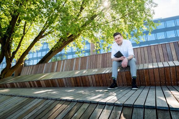 Centric IT Solutions Lithuania archyvo nuotr./IT vadovas Mantas Lukoševičius