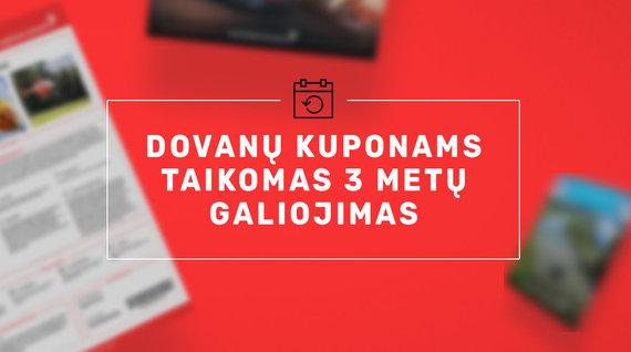 Partnerio nuotr./Pokyčiai dovanų čekių platintojų rinkoje: 3 kartus prailgintas dovanų čekių galiojimas