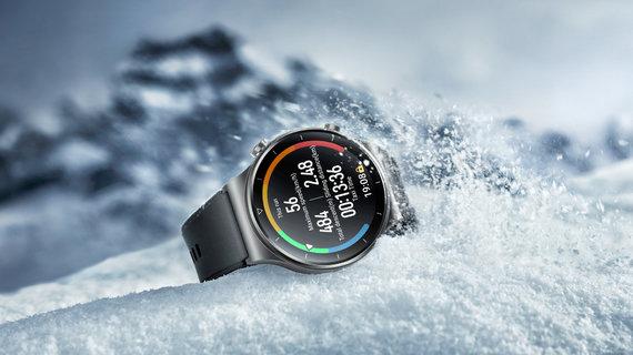 """Huawei nuotr./""""Huawei Watch GT 2 Pro"""""""