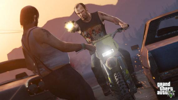 "Partnerio nuotr./""Grand Theft Auto V: Premium Online Edition"""