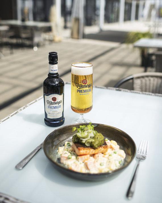 """""""Vilkmergės"""" nuotr./""""Vilkmergės"""" ambasadorius rekomenduoja: pajūrio restoranas, kuriame maistas gimsta iš istorijų"""