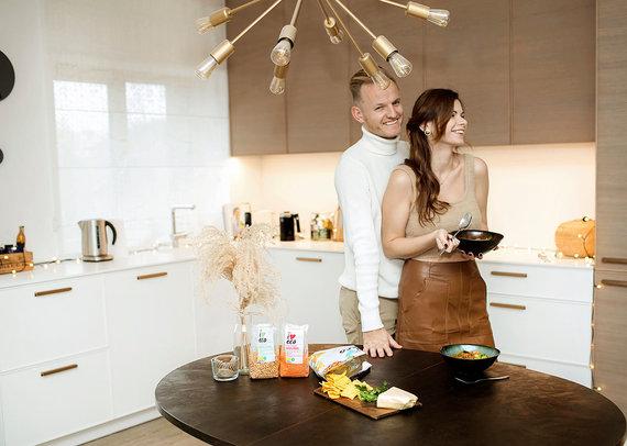 Partnerio nuotr./Lauros Mazalienės šeimai išvengti maisto švaistymo padeda patikrinti triukai