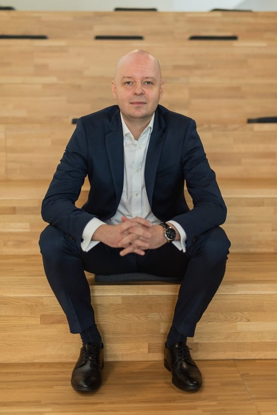 "Partnerio nuotr./""AeroCity Tech Ventures"" fondo vadovas Julius Norkūnas"