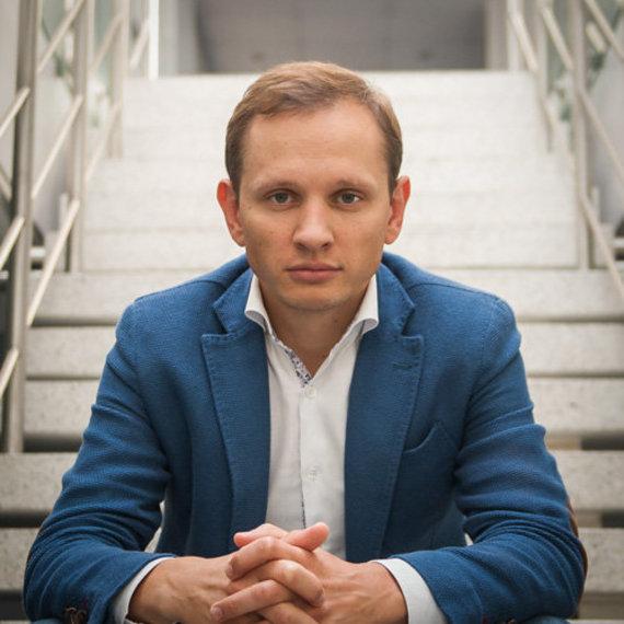 """Autorių nuotr./""""Practica Capital"""" partneris Donatas Keras: """"Vilniuje vyksta labai teigiami startuolių kūrimosi procesai, tačiau šiandien visų pirma reikia stengtis, kad šioje srityje neatsiliktume, iki lyderystės regione dar toli."""""""