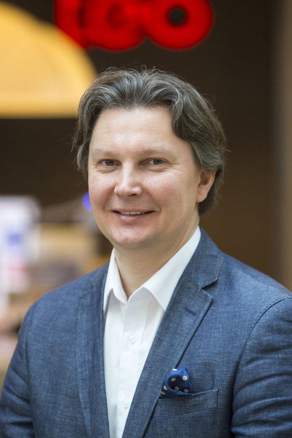 """Autorių nuotr./""""Teo"""" generalinis direktorius Kęstutis Šliužas: """"Dabar pats metas sujungti jėgas ir išnaudoti turimą infrastruktūrą ir žinias, kuriant informacinėmis technologijomis pagrįstą ateities ekonomiką."""""""
