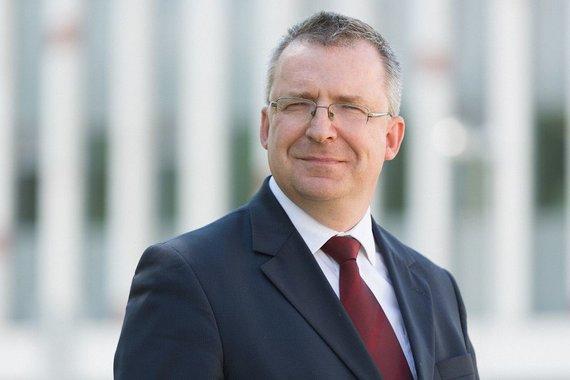 E.Kurausko nuotr./VU Teisės fakulteto profesorius habil. dr Vytautas Nekrošius