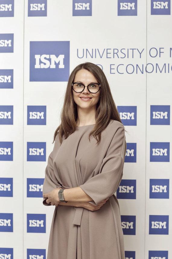ISM nuotr./ISM Fondo direktorė Jurgita Gaukštienė