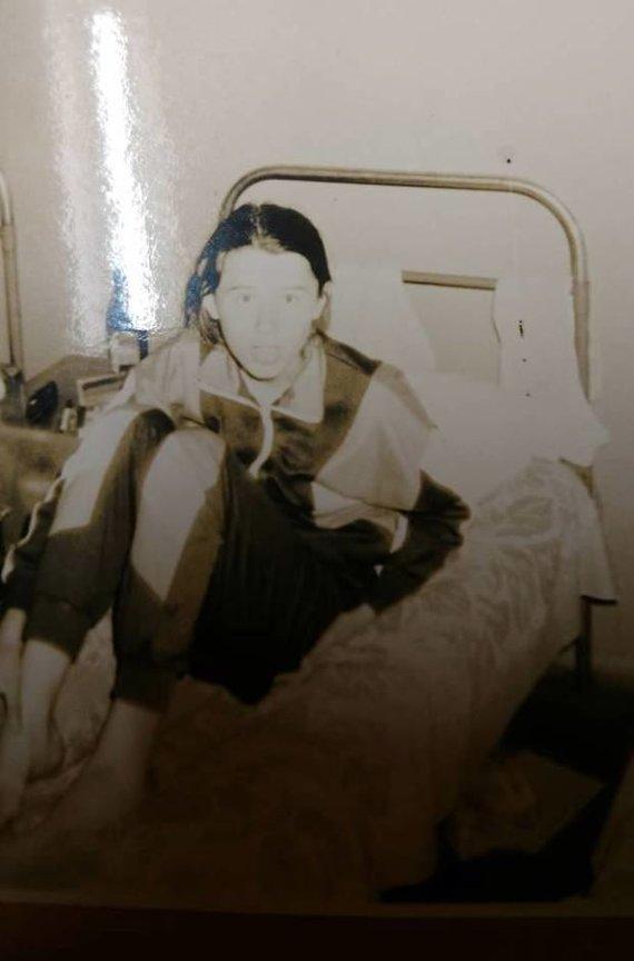 """Asmeninio albumo nuotr./Mergaitė, prie kurios """"Žilvičio"""" stovykloje galimai buvo priekabiauta"""