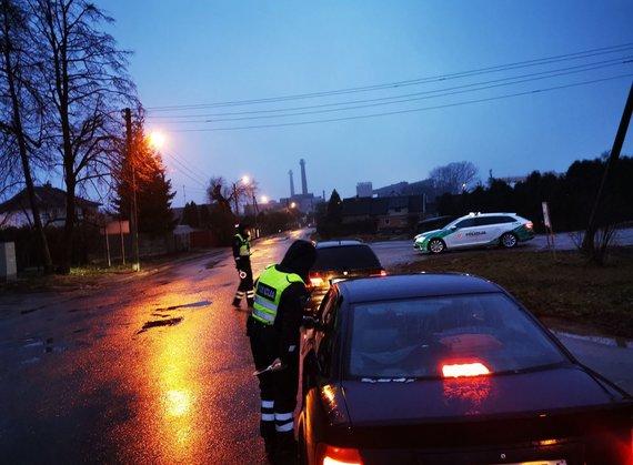 Kauno apskrities policijos nuotr./Kauno policijos reidas
