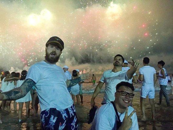 Artūro Kudelko asmeninio albumo nuotr./ Naujieji metai Brazilijoje
