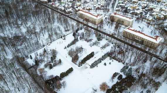 Kauno miesto savivaldybės nuotr./Vydūno alėjos 4 sklypas, kuriame planuojama automobilių stovėjimo aikštelė