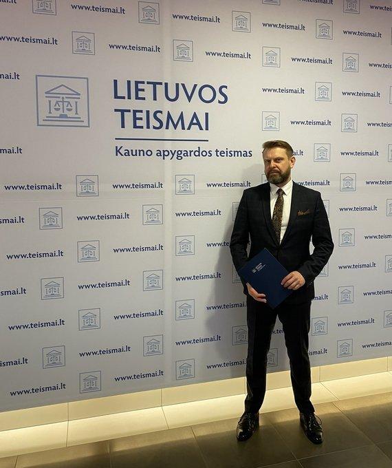 Kauno apygardos teismo nuotr./Nerijus Meilutis