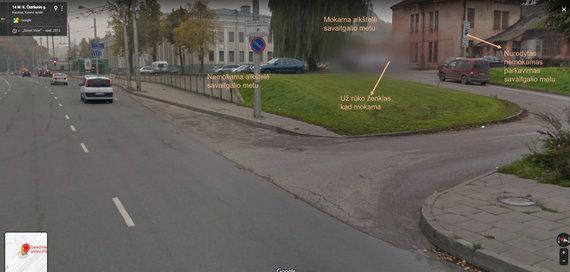 Skaitytojo Igno nuotr./Kaunietis tikina, kad kelio ženklai prie geležinkelio stoties klaidina