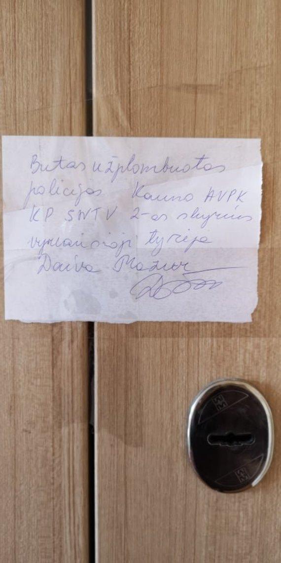 Skaitytojos nuotr./Namas, kuriame rasti dviejų jaunų žmonių lavonai