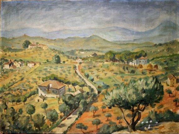Aukciono organizatorių nuotr./R.Kalpokas Panorama nuo kalno