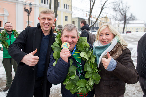 Mariaus Vizbaro / 15min nuotr./Poledinės žūklės rinktinė iškovojo aukso medalius