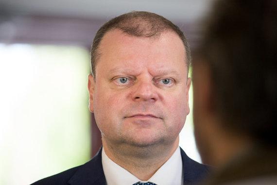 Mariaus Vizbaro / 15min nuotr./Saulius Skvernelis susitiko su mokyklų vadovais