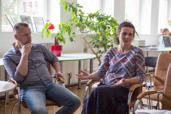 Mariaus Vizbaro / 15min nuotr./Skirmantas ir Lina Šalučkos