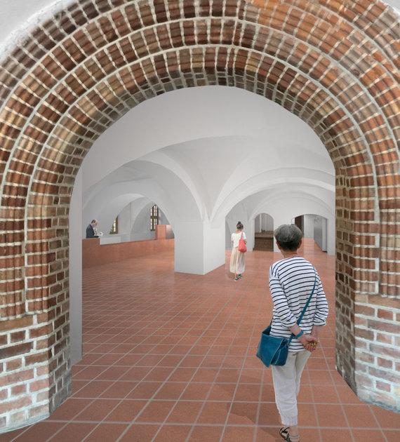 """Architektų studija """"Processoffice""""/Kauno rotušės vizualizacijos"""