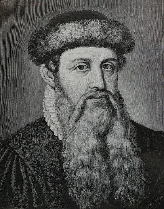 Wikipedia.org nuotr./Johannesas Gutenbergas