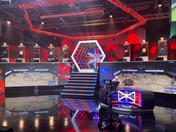 """NBA 2K Invitational"" arena Londone"
