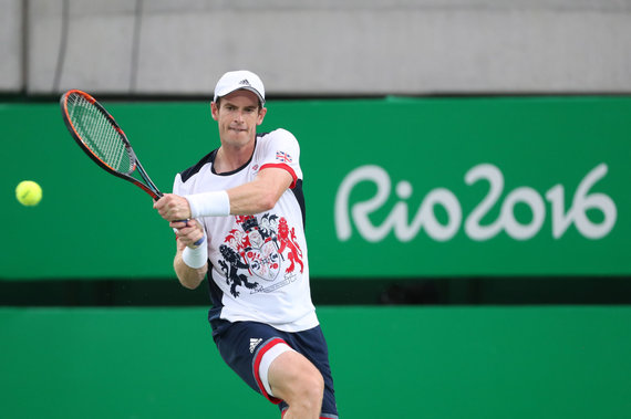 """""""Scanpix"""" nuotr./Andy Murray prieš Viktorą Troickį"""