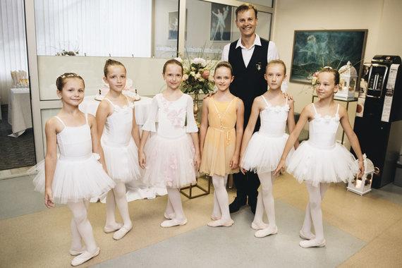 Ryčio Survilos nuotr./Nerijaus Juškos baleto mokyklos įkurtuvės