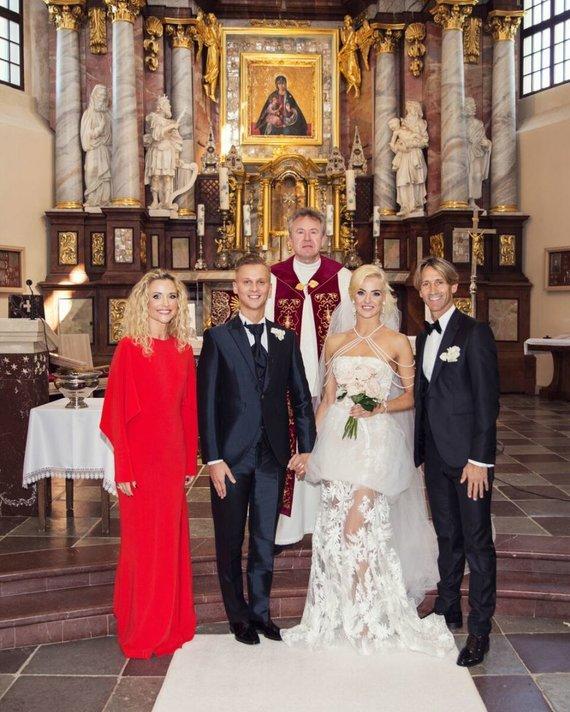 Luko Griciaus nuotr./Evaldas Sodeika ir Ieva Žukauskaitė, Edita Daniūtė ir Mirko Gozzoli