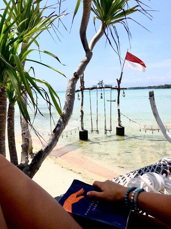 Asmeninio albumo nuotr./Militos Daikerytės įspūdžiai iš Balio