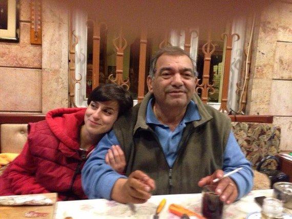 Photo by private album / Asmig Grigorian with Dad Gehamu