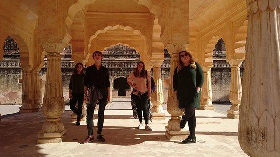 """Asmeninio albumo nuotr./""""Where backs come from"""" įspūdžiai Indijoje"""