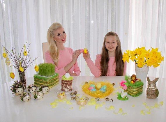 Asmeninio albumo nuotr./Inga Stumbrienė su dukra Estela