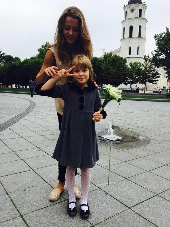 Asmeninio albumo nuotr./Milana Jašinskytė su dukra Daniele